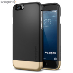 Spigen Style Armor iPhone 6 Shell Case - Black
