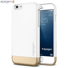 Spigen Style Armor iPhone 6 Shell Case - White