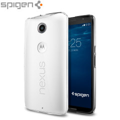 Spigen Thin Fit Google Nexus 6 Shell Case - Crystal Clear