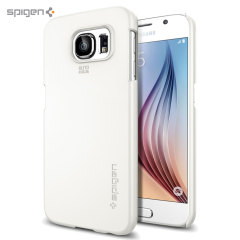 Spigen Thin Fit Samsung Galaxy S6 Shell Case - White