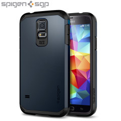 Spigen Tough Armor Case for Samsung Galaxy S5 - Metal Slate