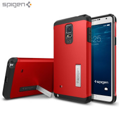 Spigen Tough Armor Samsung Galaxy Note 4 Case - Red