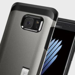 Spigen Tough Armor Samsung Galaxy Note 7 Case  - Gunmetal