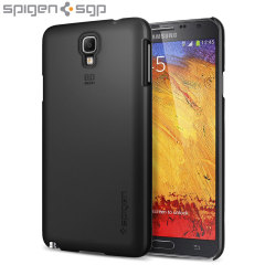 Spigen Ultra Fit Case for Samsung Galaxy Note 3 Neo - Black