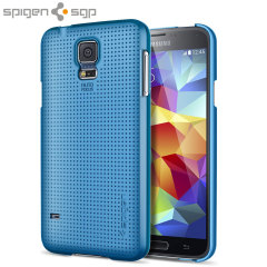 Spigen Ultra Fit Case for Samsung Galaxy S5 - Electric Blue