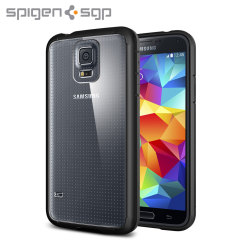 Spigen Ultra Hybrid Case for Samsung Galaxy S5 - Black