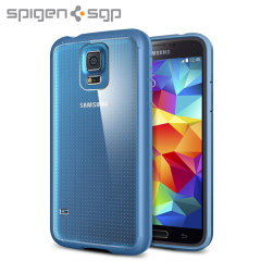 Spigen Ultra Hybrid Case for Samsung Galaxy S5 - Blue