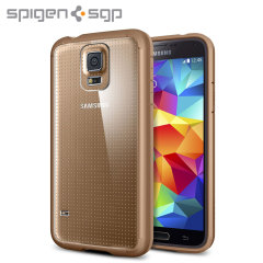 Spigen Ultra Hybrid Case for Samsung Galaxy S5 - Gold