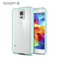 Spigen Ultra Hybrid Case for Samsung Galaxy S5 - Mint
