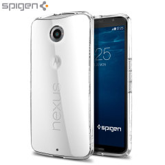 Spigen Ultra Hybrid Google Nexus 6 Case - Crystal Clear