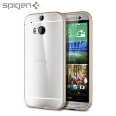 Spigen Ultra Hybrid HTC One M8 Case - Gold