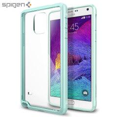 Spigen Ultra Hybrid Samsung Galaxy Note 4 Bumper Case - Mint