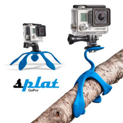 Splat Flexible GoPro Tripod - Blue