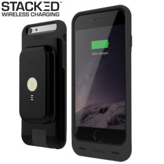 Stacked iPhone 6S/6 Plus Wireless Charging Case & Power Pack - Black