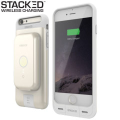 Stacked iPhone 6S/6 Plus Wireless Charging Case & Power Pack - Gold