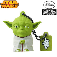 Star Wars Yoda 8GB USB Flash Drive Keyring