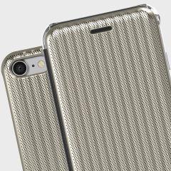 STIL Jet Set iPhone 7 Flip Case - Champagne Gold
