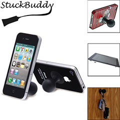 StuckBuddy Universal Suction Cup Stand - Black