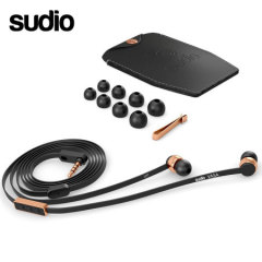 Sudio VASA Earphones For Android - Rose Gold / Black
