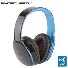 SuperTooth Freedom Stereo Bluetooth Headphones - Black / Blue