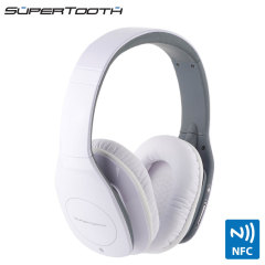 SuperTooth Freedom Stereo Bluetooth Headphones - White