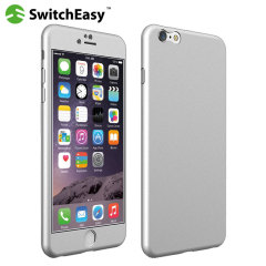 SwitchEasy AirMask iPhone 6S Plus / 6 Plus Protective Case - Silver