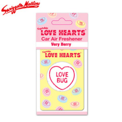 Swizzels Matlow Retro Scent Car Freshener - Love Hearts
