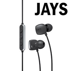 t-JAYS Four Dynamic High-Fidelity Earphones with Hands-free