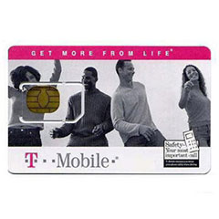 T-Mobile Pay as you go SIM card pack
