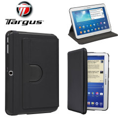 Targus Galaxy Tab 4 10.1 Rotating Leather-style Case - Black