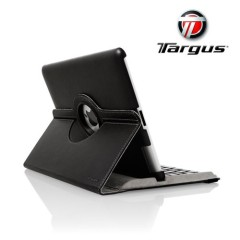 Targus Rotating Leather Style Case for iPad 4 / 3 - Black