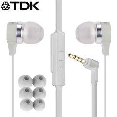 TDK SP400 Active Weather-Resistant Earphones - Cream
