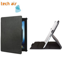 Tech Air Premium Folio Case for iPad Air - Black