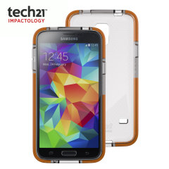 Tech21 Samsung Galaxy S5 Impact Mesh Case - Clear