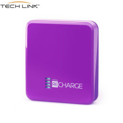 TECHLINK Recharge 2500mAh Power Bank - Purple