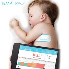 TempTraq Wearable Baby Digital Intelligent Thermometer
