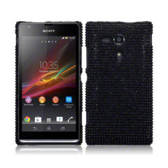 Terrapin Diamante Case for Sony Xperia SP - Black