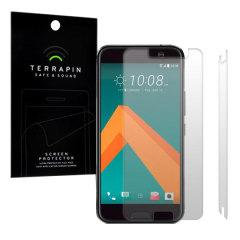 Terrapin HTC 10 Screen Protector 2-in-1 Pack