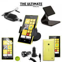 The Ultimate Nokia Lumia 520 Accessory Pack