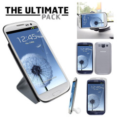 The Ultimate Samsung Galaxy S3 i9300 Accessory Pack - White