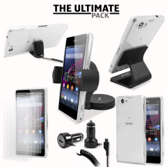 The Ultimate Sony Xperia Z1 Compact Accessory Pack - Black