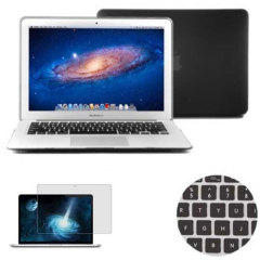 Total Protection Pack for MacBook Air 11 inch - Black