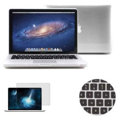 Total Protection Pack for MacBook Pro 13 inch - Clear