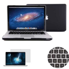 Total Protection Pack for MacBook Pro 15 inch - Black