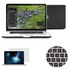 Total Protection Pack for MacBook Pro 15 inch with Retina - Black