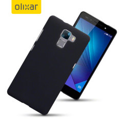 ToughGuard Huawei Honor 7 Hybrid Rubberised Case - Black