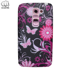 ToughGuard LG G2 Mini Rubberised Case - Butterflies
