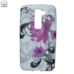 ToughGuard LG G2 Mini Rubberised Case - Floral