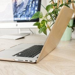 Toughguard MacBook Pro 15 inch With Retina Hard Case - Champagne Gold