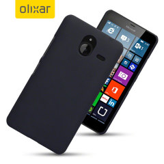 ToughGuard Microsoft Lumia 640 XL Rubberised Case - Black